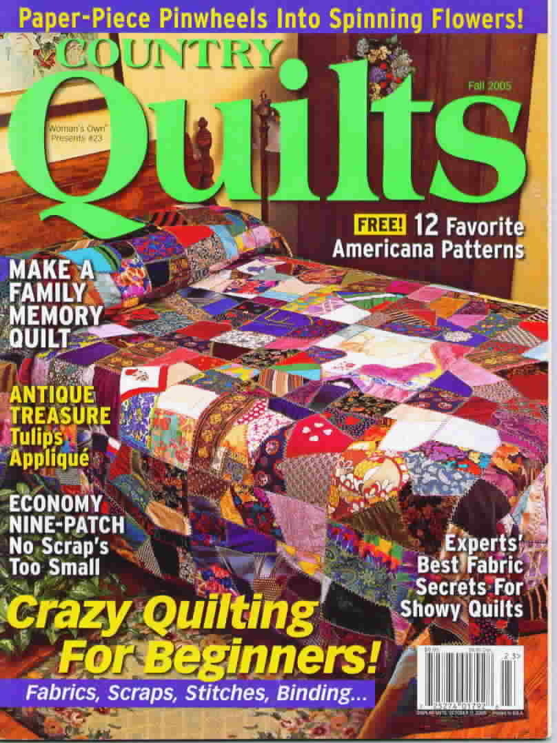 Country quilts fall 2005
