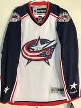 Reebok Premier NHL Jersey Columbus Blue Jackets Team White sz 2X - $39.59