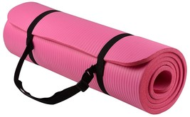 Yoga Exercise Mat 10 Mm Extra-Thick Yoga Mat With Carrying Strap 6 X 2 Feet - $49.80