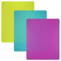 Flexible Plastic Cutting Board Mats set, Colorful Kitchen Cutting Board ... - $8.37