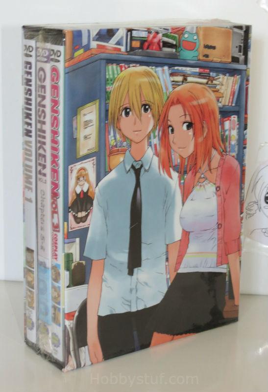 Genshiken Premium Collection Box Set DVD Brand NEW!