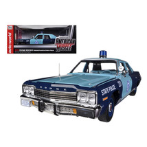 1974 Dodge Monaco Pursuit Massachusetts State Police 1/18 Limited to 200... - $92.42