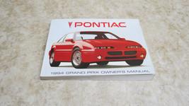 OEM 1994 PONTIAC GRAND PRIX OWNERS MANUAL NOS L-215 - $9.91