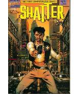 SHATTER #1 First Computerized Comic RARE Early ... - $0.99