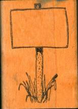 Mountd Rubber Stamp BLANK SIGN Rubber Stamps Am... - $0.99