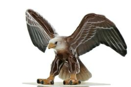 Hagen Renaker Miniature Bird Eagle Ceramic Figurine image 3