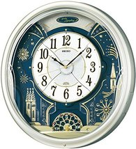 SEIKO Clock Clock Wall Clock Wave Symphony Radio Clock Twin -Pas contraption RE5 - $502.00
