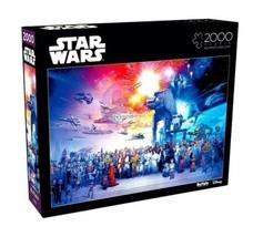 Star Wars 2000 Piece Jigsaw Puzzle Buffalo Games 38x26, You were The Chosen One - $40.80