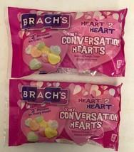 "Brach's Tiny Conversation Hearts Candy-Heart ""2""Heart-U Will Receive 2ea 7oz Bag - $7.80"