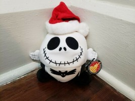 Disney Parks Santa Jack Skeleton Nightmare Before Christmas Round Plush - $19.34