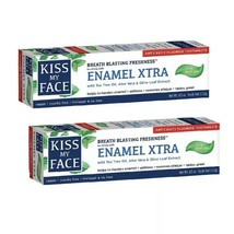 2x Kiss My Face Toothpaste Enamel Xtra Cool Mint Gel Paste 4.5 oz - DISCONTINUED - $17.81