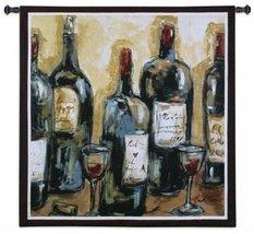 """Fine Art Tapestries """"Wine Bar"""" Wall Tapestry - $180.00"""