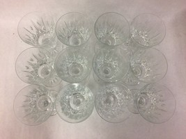 Set of 12 Royal Brierley Ascot Crystal Water Goblets - $221.76