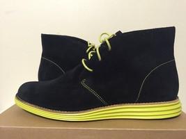 Cole Haan Lunargrand Chukka Black / Limelight Women's Fashion Ankle Lace... - $53.10