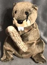 Ty Beanie Baby Lumberjack -(Beaver 2003) Gift Easter Valentine's Ships Free! B53 - $19.79