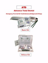 Advance Total Dental Emergency First Aid Kit Teeth-Dentures-Bridgework-Fillings - $6.99+
