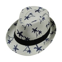 feitong Floppy Foldable womens fedora hat Ladies Women Maple Leaf Straw ... - $9.49