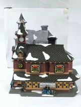 DEPT 56 Snow Village Village Station 1992 Original Package 54380 Christmas - $24.49