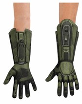 Master Chief Deluxe Gloves Halo Fancy Dress Up Halloween Adult Costume Accessory - $19.99