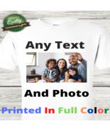 12 Personalized photo shirts, Custom Shirt With Photo, Custom T-Shirt Gr... - $167.88