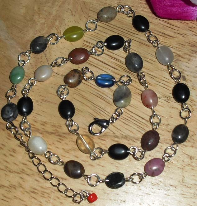 Gem  mix necklace