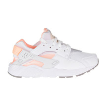 Nike Huarache Run Little Kid's Shoes White-Crimson Tint 704951-110 - $69.95