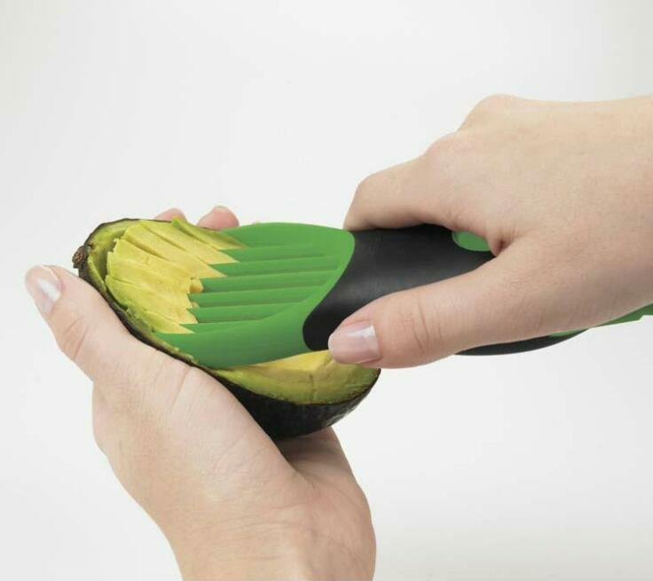 Avocado Slicer Corer Plastic Fruits Pie Cooking Tools Durable Blade Kitchen Tool