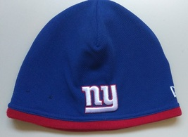 New Era NFL Unisex Beanie NEW YORK GIANTES BLUE Football Beanie  - £14.46 GBP