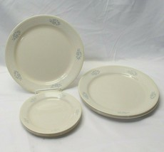 Corelle Lace Bouquet Dinner and Bread Plates Lot of 9 - $34.29