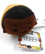 Disney Tsum Tsum Star Wars Force Awakens FINN Plush Toy 3.5 inch Brown Black - $9.49
