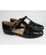 Ann Taylor Arrow Black Size 6 Sandal Style - $19.95