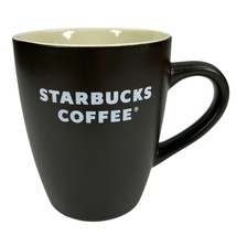 2008 Starbucks 12 fl oz Dark Brown Cream Souvenir Tea Coffee Mug Cup - $15.63