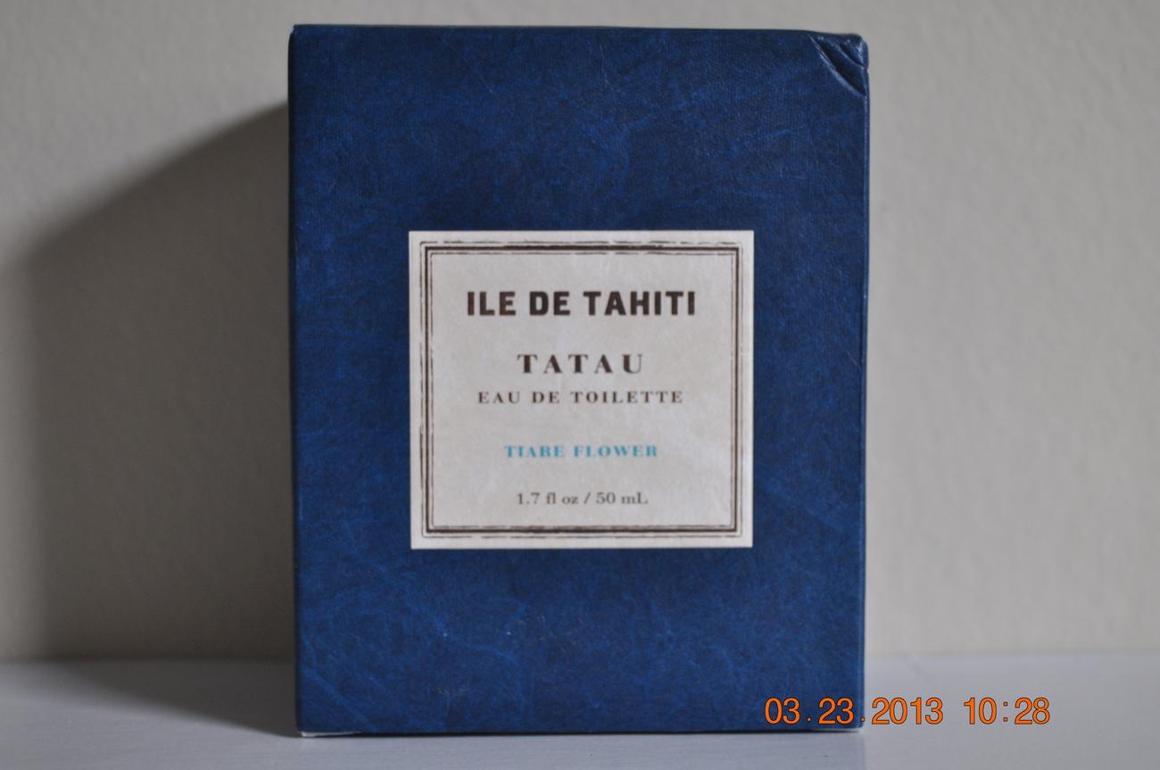 Bath & Body Works Ile De Tahiti Tatau ~Tiare Flower ~ Eau De Toilette Spray, 1.7