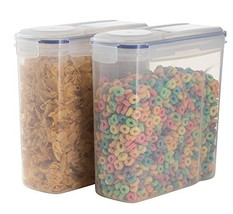 Cereal Container Keeper Great For Dry Food Storage With Airtight Lid Per... - $20.46