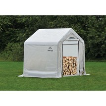 Small Storage Shed Kindling Utility Backyard Greenhouse Enclosure Kit Ca... - $153.15
