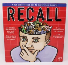 Recall - The Fun and Effective Memory Improvement Tile Game.- Complete - $51.51