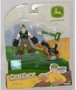 John Deere LP51318 Gear Force Jackson Action Figure Shovel Dog - $8.99