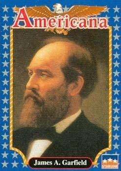 James A. Garfield trading card (20th President of the U.S.) 1992 Starline Americ
