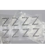 "Crystal Rhinestone Self Adhesive Letters ""Z"" For Cards And Invitations -... - $1.63"