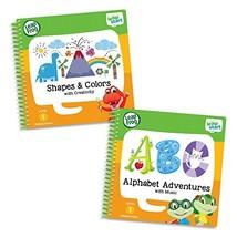 LeapFrog LeapStart Level 1 Preschool Activity Book Bundle with Alphabet Adventur - $28.71