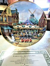 Collectible Carousel Plates w/ COA  The Franklin Mint  CAROUSEL ADVENTURE - $19.80