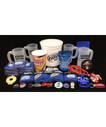 Beer Items Bucket Mugs Pins Bottle Opener Pins Key Chain Bud Light Mille... - $49.45
