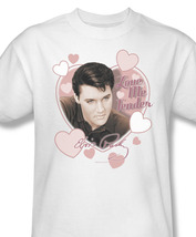 Elvis presley love me tender 50 s song for sale online graphic white tshirt elv227 at thumb200