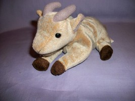TY Beanie Babies Goatee The Goat With Tush Tag Only 1999 - $2.48
