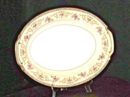 Noritake China Large Serving Platter Japan (Colby Pattern # 5032) AA19-1491 Vin image 1