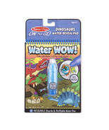 Melissa & Doug On The Go Water Wow! Dinosaurs Reusable Water-Reveal Acti... - $10.80