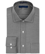 Tommy Hilfiger Non-Iron Solid Dress Shirt 17 32/33 - £23.67 GBP