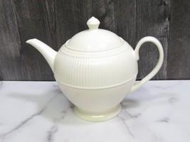 Wedgwood Windsor Round Ribbed Teapot England - $36.63
