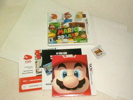 Nintendo 3ds game super mario 3d land complete tested 2011 - $18.00