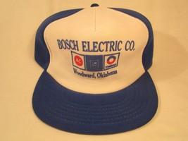 VINTAGE HAT Mens Cap BOSCH ELECTRIC CO Woodward, Oklahoma [Y155g] - $14.40